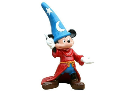 Cartoon Celebrity Mouse Wizard Movie Hollywood Prop Decor Statue - LM Prop Rentals