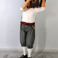 Pirate Holding Treasure Life Size Statue