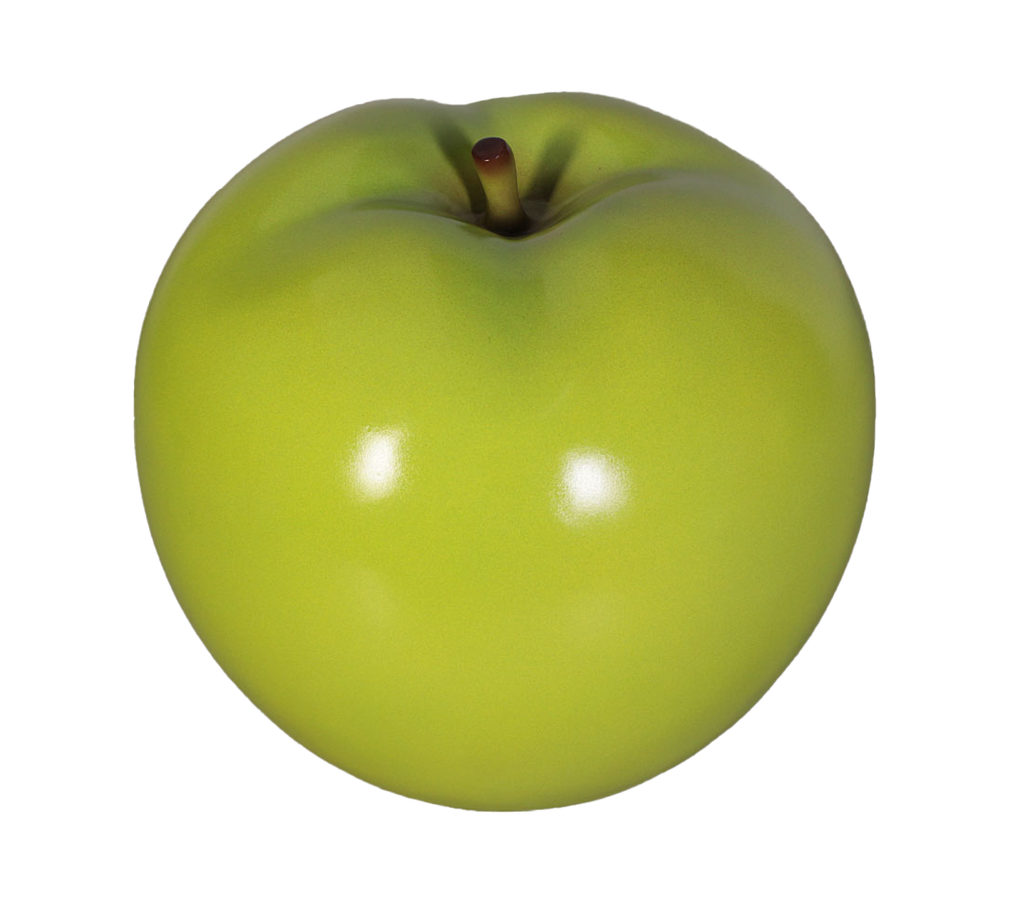 Small Green Apple Over Sized Statue