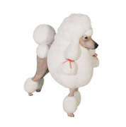 French Poodle Life Size Statue