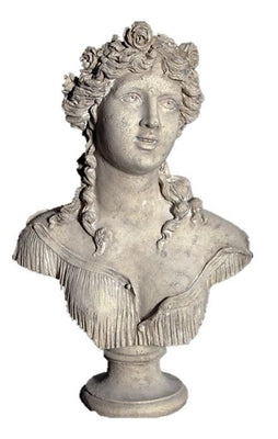 Bust Stone Sabine Greek Roman Prop Resin Decor - LM Treasures Prop Rentals