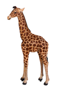 Giraffe Baby Safari Prop Resin Decor Statue