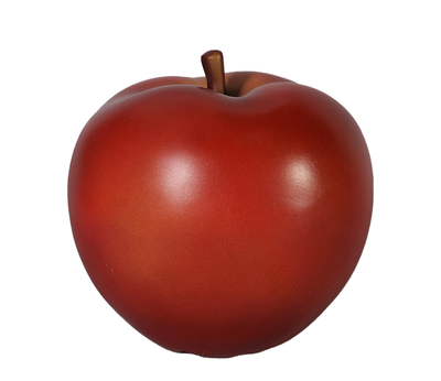 Red Apple Over Sized Statue