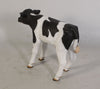 Cow Holstein Calf New Born Standing Farm Prop Life Size Resin Statue