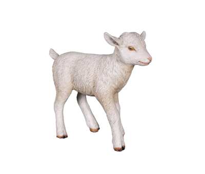 Goat Baby Standing Life Size Farm Resin Prop Statue