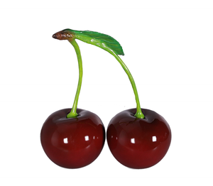 Cherry Pair Over Sized Statue