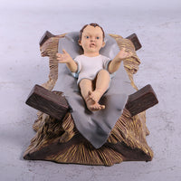 Nativity Set of 7 Life Size Resin Christmas Statues