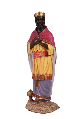 Nativity King Balthasar Christmas Life Size Statue