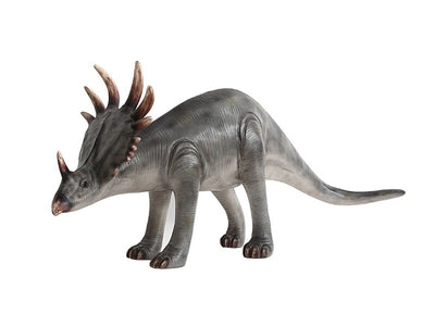 Baby Triceratops Dinosaur Life Size Statue