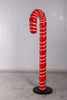 Large Red Candy Cane Over Sized Statue