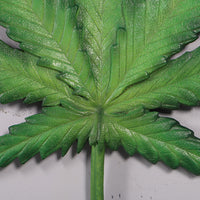 Cannabis Marijuana Weed Leaf Wall Decor