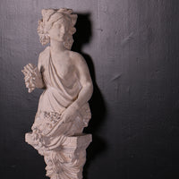 Bust Stone Pomona Wall Decor Greek Roman Prop Resin Decor
