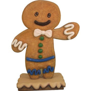 Gingerbread Boy Cookie #1 Display Prop Decor Statue - LM Treasures Prop Rentals