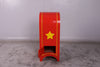 Santa Claus Christmas Traditional Mailbox Prop Decor Resin Statue