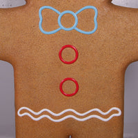 Man Gingerbread Cook Over Sized Statue