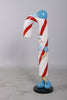 Jr Candy Cane Over Sized Statue