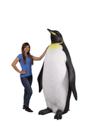 Jumbo King Penguin Over Sized Statue