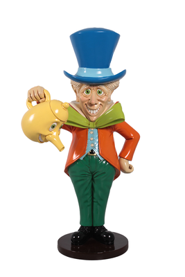 Mad Hatter From Alice In Wonderland Life Size Statue