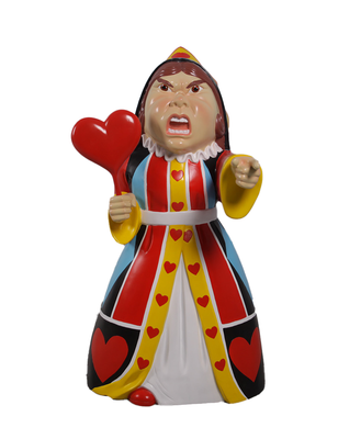 Queen of Hearts From Alice In Wonderland Life Size Statue