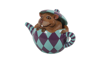 Mouse In Tea Cup From Alice In Wonderland Life Size Statue