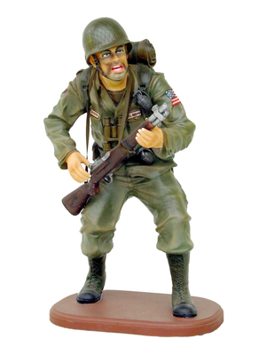 American Soldier Small Statue