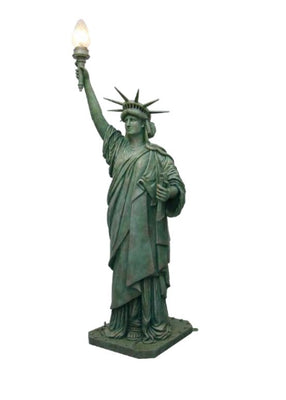Statue of Liberty 8.75 ft Memorial Prop Decor Resin Statue - LM Treasures Prop Rentals