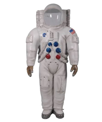 Astronaut Photo Op Life Size Space Prop Resin Decor Statue - LM Treasures Prop Rentals
