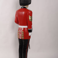 Royal Guard Artillery Officer Life Size Statue
