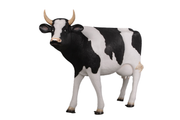Holstein Cow Life Size Statue