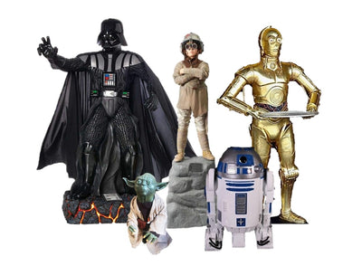 Star Wars Package 2 Life Size Statue