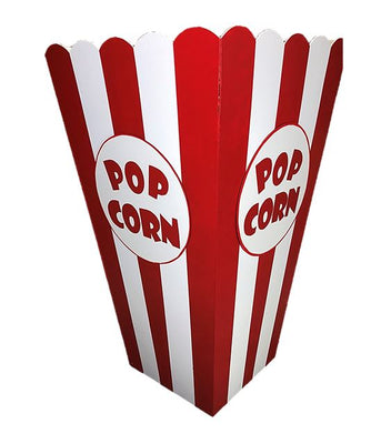 Hollywood Prop Popcorn Small 4ft Movie Decor Statue - LM Treasures Prop Rentals