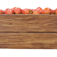Fruit Apple Red Case Full Over Sized Restaurant Prop Resin Statue - LM Prop Rentals