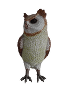 Bird Owl Animal Prop Life Size Resin Statue - LM Treasures Prop Rentals