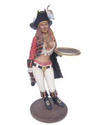Lady Pirate Butler Small Statue