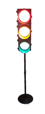 Floor Standing Stop Light - LM Treasures Prop Rentals