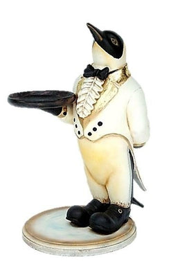 Animal Butler Penguin Small Bird Prop Decor Resin Statue - LM Prop Rentals