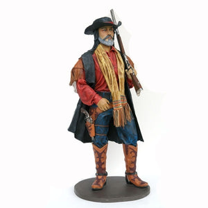 Cowboy With Shotgun Statue - LM Treasures Prop Rentals