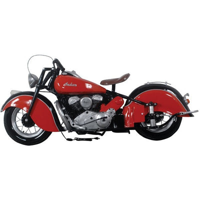 Motorcycle American 6' Wall Decor Resin Prop Statue - LM Prop Rentals