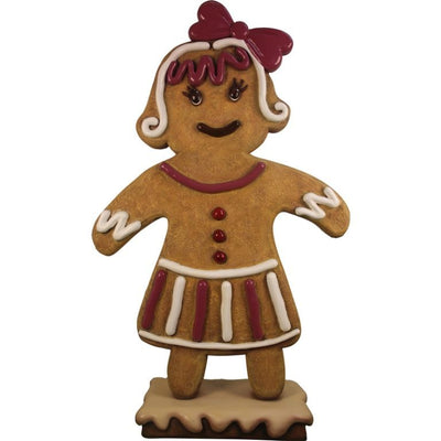 Gingerbread Mama Cookie Display Prop Decor Statue - LM Treasures Prop Rentals