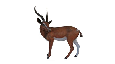 Gazelle Forest Prop Life Size Decor Resin Statue