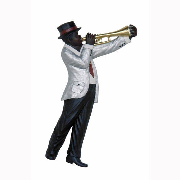 Jazz Band Trumpet Player Wall Decor - LM Treasures Prop Rentals