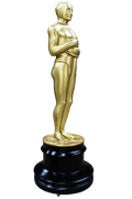 Hollywood Prop Trophy 8ft Butler Gold Movie Decor Resin Statue - LM Treasures Prop Rentals