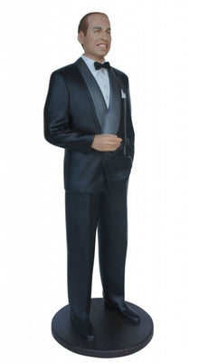 Celebrity Prince William Duke of Cambridge Prop Decor Statue - LM Treasures Prop Rentals