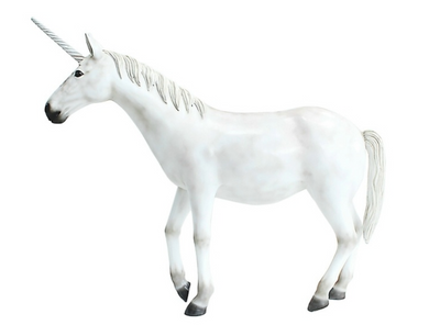 Unicorn # 2 Mythical Prop Decor Statue - LM Treasures Prop Rentals