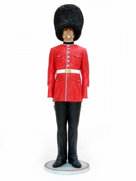 Queens Guard British London Prop Resin Decor Statue - LM Treasures Prop Rentals