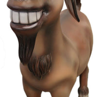 Comic Goat Farm Prop Life Size Decor Resin Statue - LM Treasures Prop Rentals