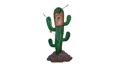 Cactus Sign Western Display Prop Decor Resin Statue - LM Treasures Prop Rentals