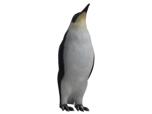 Penguin Female Bird Statue Life Size Prop Decor - LM Treasures Prop Rentals