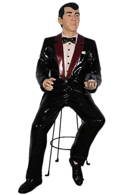 Rat Pack Singer Dean - 6 ft - LM Treasures Prop Rentals