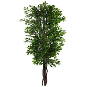 Artificial Foliage Tree Ficus2 6.5 ft Jungle Safari Prop Decor - LM Treasures Prop Rentals
